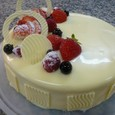 ENTREMETS DOUCEUR DE CHOCOLAT BLANC ET FRUITS ROUGES♪